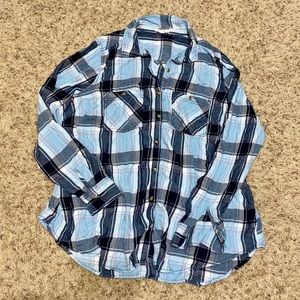 5/$10 Maurices Plaid Shirt